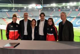 Zoé Brebion et Manon Delafosse pourront bénéficier du CESU pour cette saison 2019 / 2020 avec l'Université de Caen Normandie