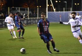 Bien servi par Azzeddine Toufiqui (ici en photo), Herman Moussaki a inscrit le but victorieux Samedi soir lors de la victoire 1-0 face à Cherbourg
