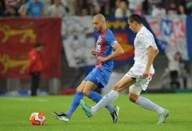 Laurent Agouazi et les caennais s'étaient imposés en 2013 grâce à un but de Fayçal Fajr en fin de rencontre face au HAC