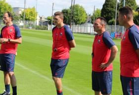 Fabrice Vandeputte et Michel Rodriguez retrouveront un groupe réserve / U19 pour une reprise de l'entraînement le 15 juillet