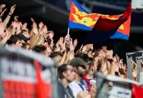 Après 9 matchs à domicile, le public du Stade Malherbe Caen occupe la tête du Championnat des Tribunes