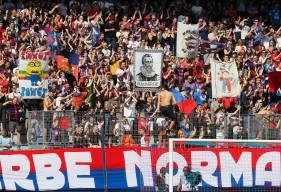 Avec 59 points après trois matchs comptabilisés à domicile, le Stade Malherbe Caen occupe la deuxième place du classement à un point du FC Lorient
