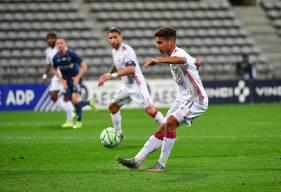 Nicholas Gioacchini a inscrit son premier but en professionnel hier soir lors du déplacement au Paris FC