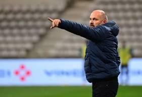 Satisfait de la seconde période du Stade Malherbe, Pascal Dupraz a regretté le contenu de la première mi-temps hier soir