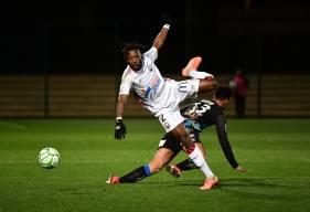 Steeve Yago et la défense du Stade Malherbe ont réussi à garder leur but inviolé hier soir à Chambly