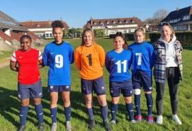 Les six joueuses du Stade Malherbe Caen étaient présentes lors du rassemblement organisé à Houlgate samedi dernier