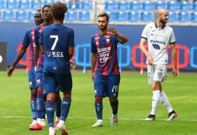 Azzeddine Toufiqui et les Caennais ont dû s'incliner face au Havre AC samedi en fin de journée