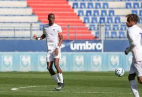 Jason Ngouabi a participé à l'intégralité de la rencontre avec l'Équipe de France U18 vendredi dernier