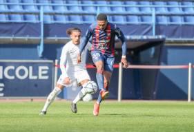 Andréas Hountoundji avait déjà effectué une apparition avec les professionnels en Coupe de France la saison dernière