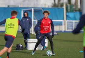 Alexis Beka Beka pourrait retrouver l'entraînement collectif avec le Stade Malherbe Caen dès ce début de semaine