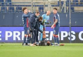 À l'image de Brahim Traoré, les joueurs du Stade Malherbe Caen ont tout donné face au Pau FC samedi soir