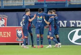 Le Stade Malherbe Caen a gagné six points après la 90e minute cette saison, seul le GF38 faut mieux