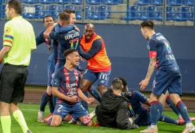Benjamin Jeannot a offert le maintien au Stade Malherbe Caen au bout du temps additionnel face au Clermont Foot