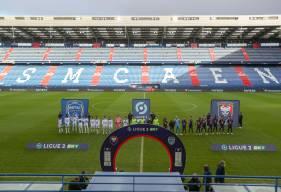 Le Stade Malherbe Caen a réussi à tenir tête à l'ESTAC, leader de la Ligue 2 BKT hier après-midi