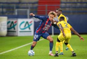 Alexis Beka Beka a inscrit son premier but chez les professionnels ce soir face au FC Sochaux malgré la défaite