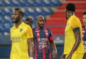 Le Stade Malherbe Caen a connu un match compliqué pour la dernière sortie de l'année 2020