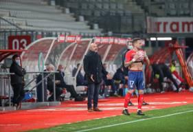 Pascal Dupraz s'est exprimé devant la presse hier soir après le revers sur la pelouse de l'AS Nancy
