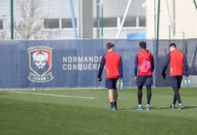 Les joueurs du Stade Malherbe Caen vont pouvoir profiter d'une semaine complète pour préparer la réception du Havre AC