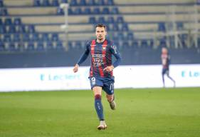 Benjamin Jeannot a participé aux trois rencontres du Stade Malherbe Caen disputées au mois de mars