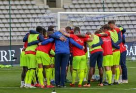 Les joueurs du Stade Malherbe Caen vont disputer trois rencontres en l'espace d'une semaine