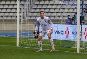 Sullivan Péan a disputé son premier match en professionnel hier sur la pelouse du Paris FC