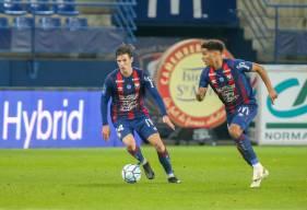 Hugo Vandermersch a délivré sa première passes décisive de la saison samedi soir face à l'AS Nancy