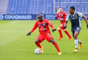 Caleb Zady Sery est les Caennais ont mis fin à plus de 12 ans sans victoire sur la pelouse du Havre AC samedi après-midi