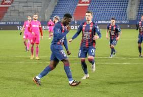 Alexandre Mendy a inscrit ses premiers buts sous les couleurs du Stade Malherbe Caen ces dernières semaines