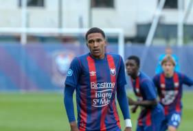Andréas Hountondji a inscrit son deuxième but en deux rencontres avec les U19 Nationaux du Stade Malherbe