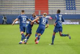 En inscrivant son sixième but de la saison, Yacine Bammou a permis au Stade Malherbe Caen d'