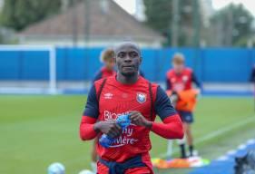 Malade pour le déplacement sur la pelouse de l'AJ Auxerre, Caleb Zady Sery effectue son retour pour la réception de Toulouse