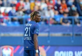 Kélian Nsona succède à Yacine Bammou qui avait été élu joueur du mois d'août Künkel