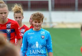 Jade Dumas s'est montré décisive à deux reprises au cours de la séance de tirs au but face au FC Rouen