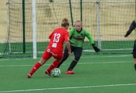 Alizée Leroty a marqué au moins un but lors des trois derniers matchs du Stade Malherbe Caen