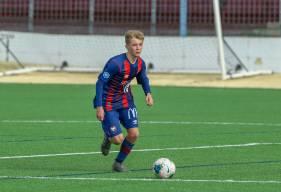 Tom Lepenant, le petit frère de Johann fait partie des joueurs en forme avec les U17 Nationaux du Stade Malherbe
