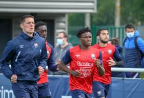 Aloys Fouda et ses coéquipiers se retrouveront ce vendredi pour la première séance de la saison 2021 / 2022