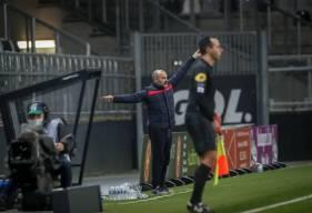 Pascal Dupraz s'est exprimé devant les médias après le match nul face à l'Amiens SC
