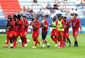 Les joueurs du Stade Malherbe Caen ont enregistré leur deuxième succès de la préparation à l'occasion de la rencontre face à Amiens