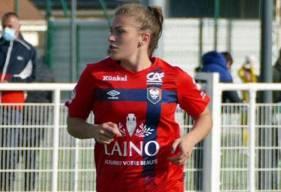 Juliette Arthur est de nouveau présente pour participer au rassemblement de l'Équipe de France Féminine U16