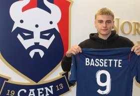 Norman Bassette va rejoindre l'effectif U19 du Stade Malherbe Caen la saison prochaine