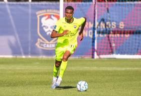 Younn Zahary aura participé aux 4 premiers matchs de préparation du Stade Malherbe Caen cette saison