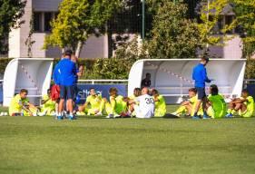 La rencontre sur la pelouse de Rodez interviendra après une trêve internationale de quinze jours
