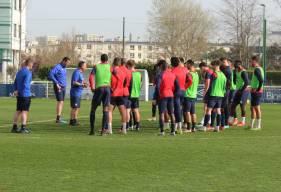 Fabrice Vandeputte et les joueurs du Stade Malherbe ont encore quelques jours pour préparer la réception du Pau FC