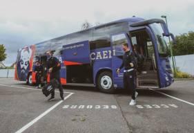 Les joueurs du Stade Malherbe Caen se rendront en bus à Chambly pour y affronter le FCCO à la fin du mois de janvier