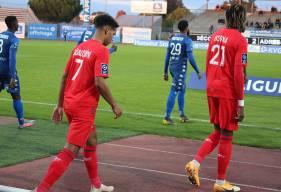 Nicholas Gioacchini et Kelian Nsona ont eu que quelques opportunités au cours de cette rencontre face à Niort