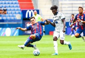 Jessy Deminguet aura disputé les 60 premières minutes de la rencontre avant d'être remplacé par Azzeddine Toufiqui