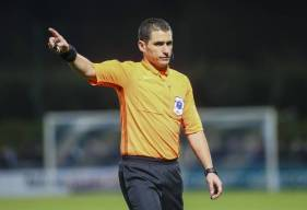 Bastien Dechepy n'a toujours pas arbitré le Stade Malherbe Caen en Ligue 2 BKT cette saison