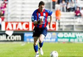 """Avec 61 buts inscrits avec les """"rouge et bleu"""", Cyrille Watier est le meilleur buteur de l'histoire du Stade Malherbe Caen"""