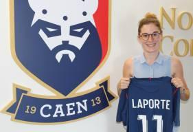Passée par l'AG Caen, Bergerac et Mérignac, Marion Laporte rejoint l'effectif d'Anaïs Bounouar pour la saison prochaine