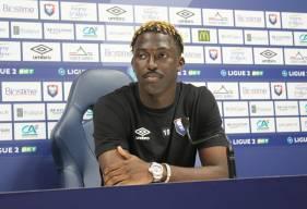 Aliou Traoré s'est exprimé pour la première fois devant la presse depuis son arrivée au Stade Malherbe Caen